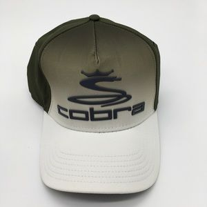 NWT Cobra Tour Fade Hat - Forest Night/White  L/XL